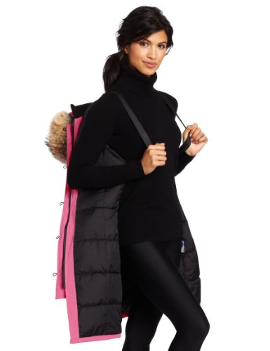 Canada Goose hats online cheap - Canada Goose Women's Kensington Parka, Summit Pink, Small in the ...