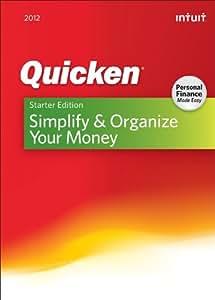 Quicken Starter Edition 2012 [OLD VERSION]