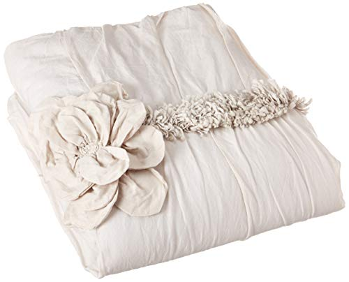 Rizzy Home Aiyana Quilted Bedding Sham, King, Natural from Rizzy Home