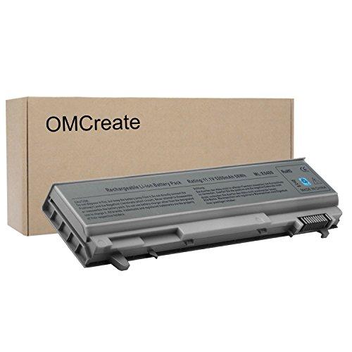 OMCreate Battery Compatible with Dell Latitude E6400 E6410 E6500 E6510 / Precision M4400, fits P/N PT434 W1193 KY265 312-0748- 12 Months Warranty