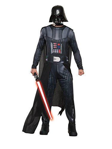 Rubie's Star Wars Men's Classic Darth Vader Costume, Multi, X-Large