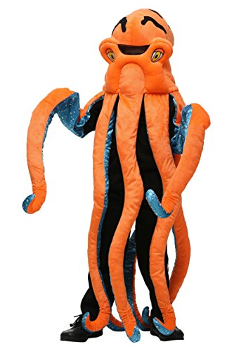 Octopus Childrens Embroidered Costume Standard