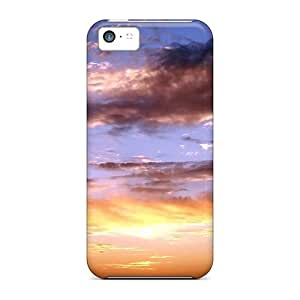 Iphone 5c Case Cover With Shock Absorbent Protective DiKTc355KXGZD Case