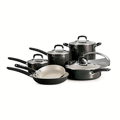Tramontina Ceramic 11 piece Cookware Metallic