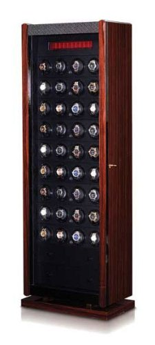 - Orbita Avanti 48 Module Watch Winder Case In Brazilian Rosewood