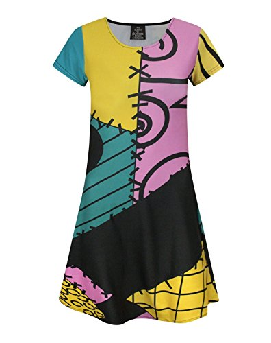 Nightmare Before Christmas Sally Costume Girl's Dress (7-8 Years)]()