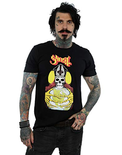 Absolute Cult Ghost Men's Blood Ceremony T-Shirt Black Large from Absolute Cult