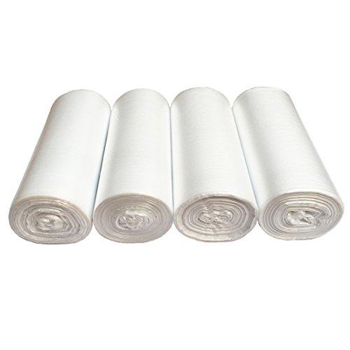 5 Gallon Clear Trash Bags - 7