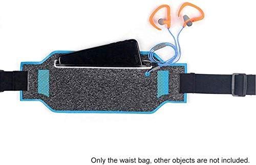 自転車収納袋、防水サイクリングウエストバッグ、ジョギングハイキングウエストバッグスポーツ携帯電話ポーチを実行している野外活動 (Color : Blue)