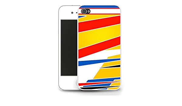 Casco de Fernando Alonso iPhone 5/5s case - blanco: Amazon.es: Electrónica