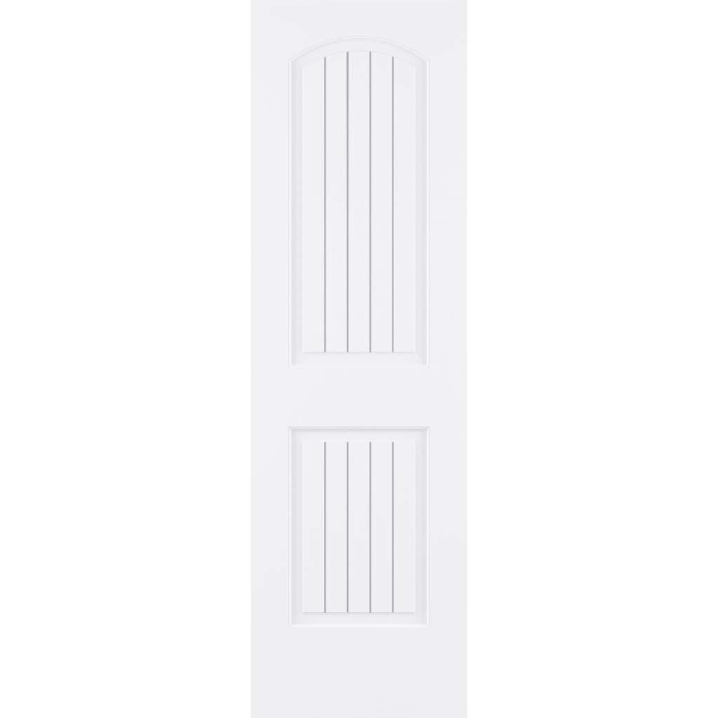 80x18 Louver-Louver Plantation Interior Door Slab Kimberly Bay White
