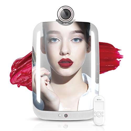 HiMirror - 2nd generation beauty smart mirror with LED makeup lights, your beauty consultant and personal skin analyzer