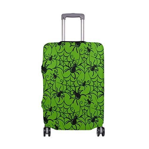 Halloween Spide With Cobweb Travelers Choice Travel Luggage with Spinner Wheels 20 Inch Baggage Suitcase]()