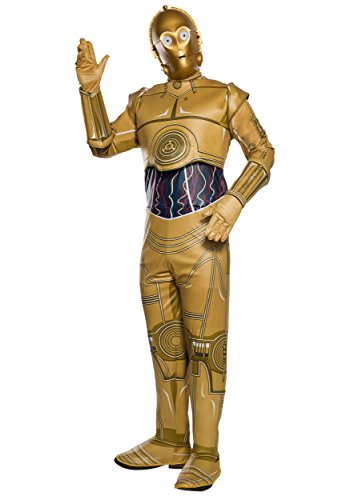 Costumes C (Star Wars Adult C-3PO Costume X-Large)