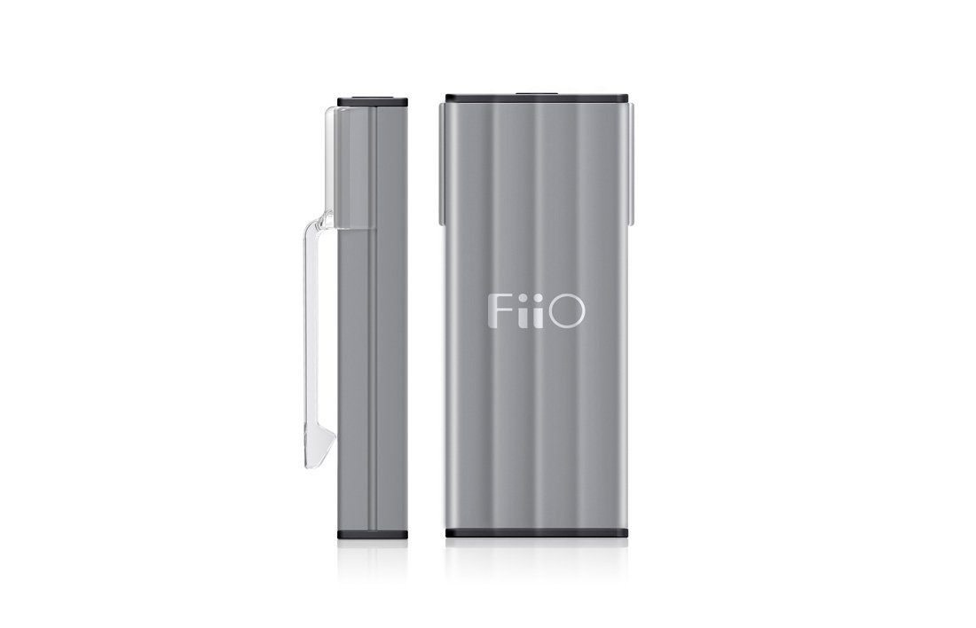 Fiio K1 Portable Headphone Amplifier&DAC and USB DAC, Titanium