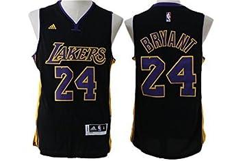 b5302ce16fd Lakers 24 Kobe Bryant Black Swingman Jersey Size-M by Dominik ...