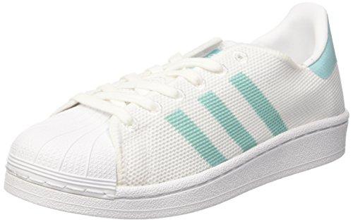 adidas Damen Superstar W Basketballschuhe Weiß (Footwear)