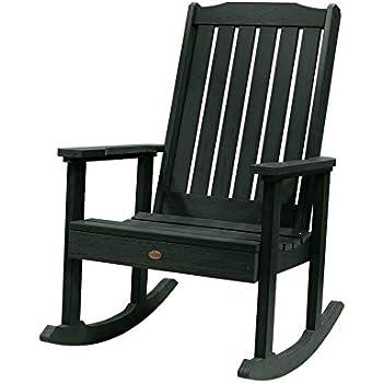 Fantastic Amazon Com White Outdoor Rocking Chair 600 Lb Capacity Bralicious Painted Fabric Chair Ideas Braliciousco