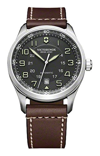 Victorinox Men's 241507 AirBoss Analog Display Swiss Automatic Brown Watch