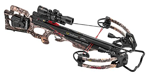 - Tenpoint Eclipse RCX Crossbow Package with RangeMaster Pro Scope, ACUdraw 50, 6 Pro-Elite Carbon Arrows, 3-Arrow Instant Detach Quiver, and Ambidextrous Side Quiver Mount