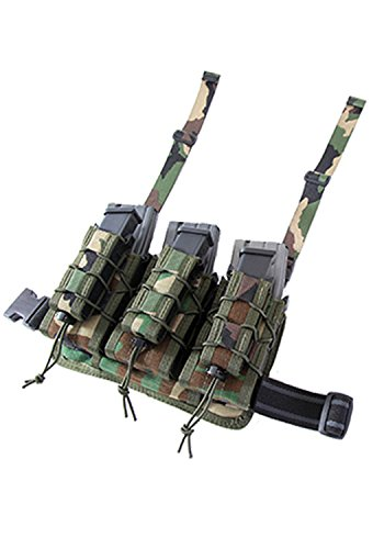 - HSGI Double Decker Leg Rig, Woodland