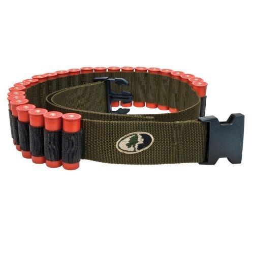 Mossy Oak Shotgun Shell Belt, Green, Outdoor Stuffs