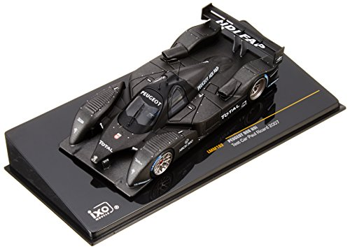 1/43 プジョー 908 V12 HDI 07 テストカーブラック ポールリカール LMM102