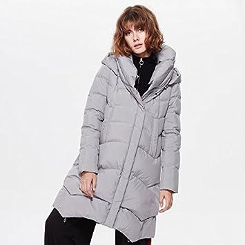 HXX Sección larga de las señoras de la nueva chaqueta blanca gruesa del pato abajo ,