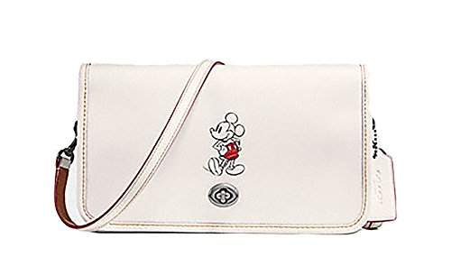 Coach Disney Mickey Leather Penny Crossbody Purse - #F59374 by Coach