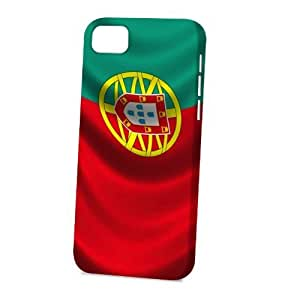 TYH - Case Fun Apple ipod Touch4 Case - Vogue Version - 3D Full Wrap - Flag of Portugal Style 2 ending phone case