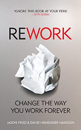 Rework- best book for growing entrepreneurs
