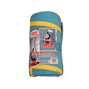 Thomas Track Star Fleece Throw Blanket