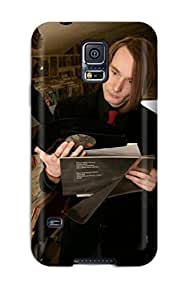 New Silence Is Music People Music Tpu Skin Case Compatible With Galaxy S5