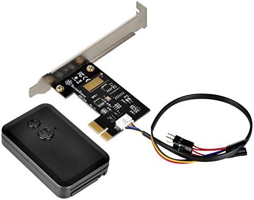 Reset USB 2.0 9-Pin SilverStone SST-ES02-USB 2.4G Funk ...