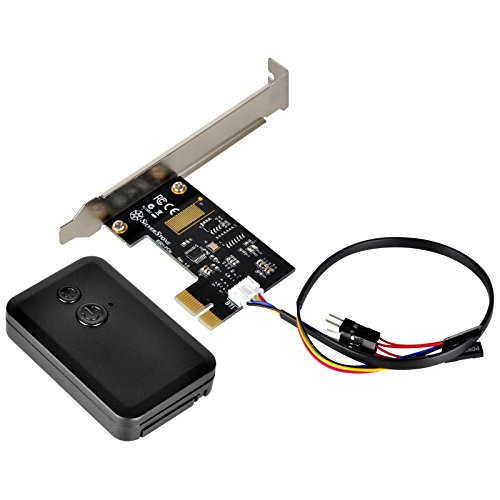 SilverStone SST-ES01-PCIE 2.4G kabelloses Remote  Computer Power/Reset Switch