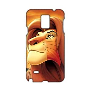 Angl 3D Case Cover Cartoon Lion King Phone Samsung Galaxy Note2 N7100/N7102