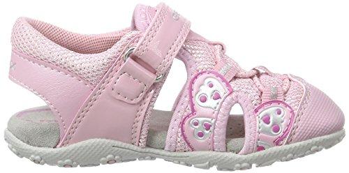 Geox B Sandal Roxanne B, Zapatos de Primeros Pasos para Bebés Rosa (Pink C8004)