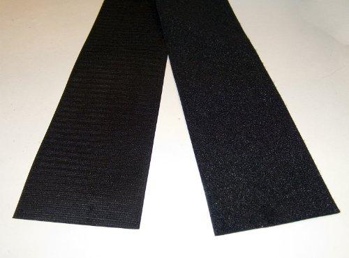 Velcro Inch Hook Black Lengths