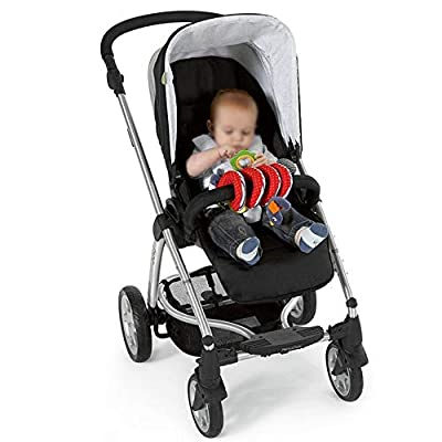MAJINCGJ Newborn Baby Toy Bed Bell Bed Pendant Baby Plush Fabric Baby Stroller Pendant Comfortable Toy Bed Winding, Baby Stroller/Safety seat Basket Pendant Fabric Plush Toy. : Baby