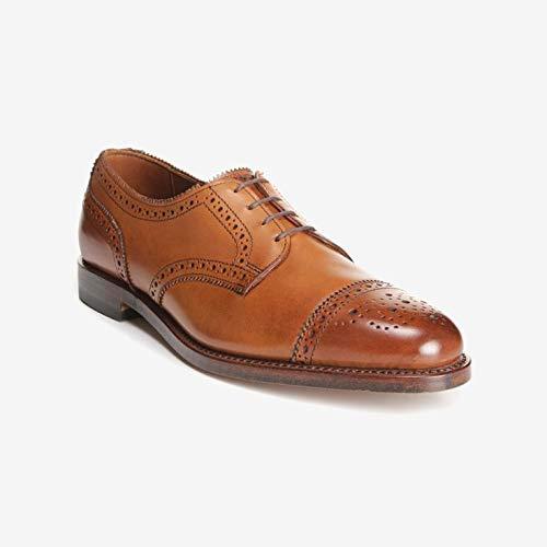 Allen Edmonds Men's Sanford Cap Toe Derby Dress Shoe 7.5 D(M) Men 6527 Walnut Leather