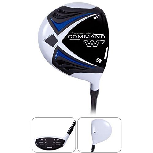 Pinemeadow Golf Men's Command W7X 3 Wood, Right Hand, Graphite, Regular