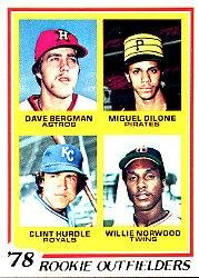 Amazoncom 1978 Topps Baseball Rookie Card 705 Clint