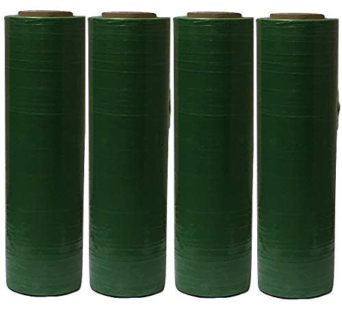 "Green Tinted 18"" x 80 Gauge Stretch Wrap 