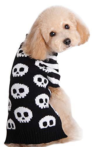 HAPEE Halloween Dog Sweater,Pet Cat Clothes -