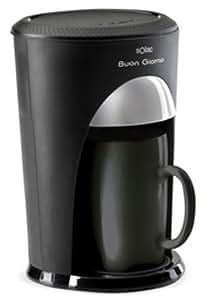 Solac CF4003, Negro, 460 W, 230 MB/s, 50 Hz - Máquina de café