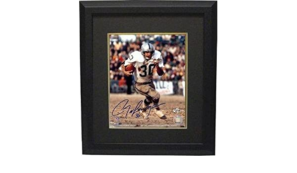 b268f11d94c Autographed Mark Van Eeghen Picture - 8x10 Custom Framed - Autographed NFL  Photos at Amazon s Sports Collectibles Store