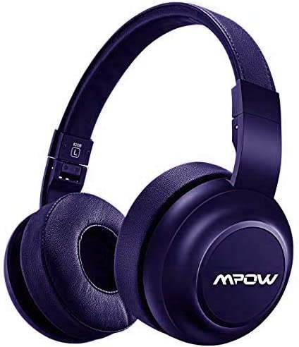 Amazon Com Mpow H2 Upgrade Bluetooth Headphones W 4 Equalizer Modes Both Wired Wireless Headphones On Ear Hifi Eq Headphones Bluetooth Headset With Mic For Cellphone Pc 13 Hour Wireless Use