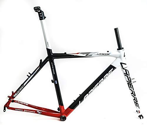 (Lapierre Cross Carbon 60cm Cyclocross Bike Frame + Fork 700c Canti New)