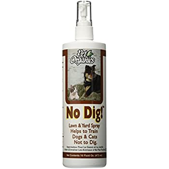 NaturVet No Dig! Lawn and Yard Spray for Pets, 16-Ounce