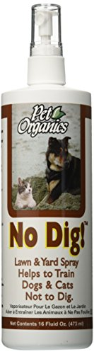 No Digging (NaturVet No Dig! Lawn and Yard Spray for Pets, 16-Ounce)